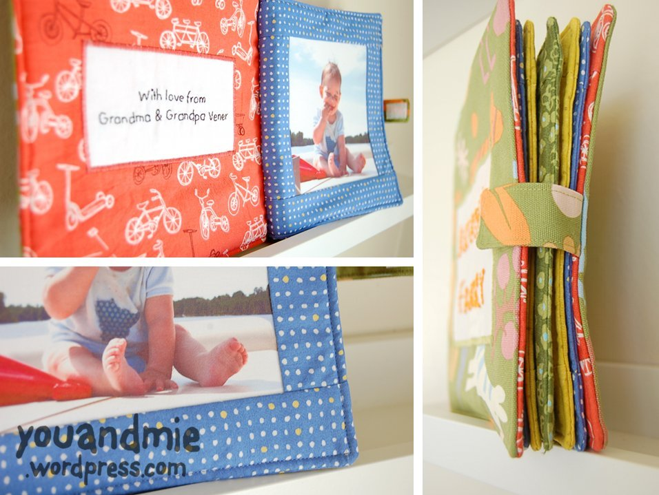 Custom Fabric Photo Book You And Mie