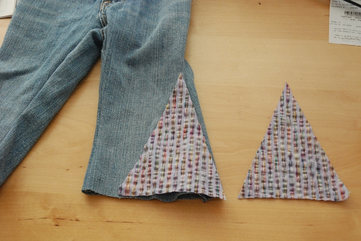 Tutorial Making Bell Bottoms From Regular Pants You And Mie