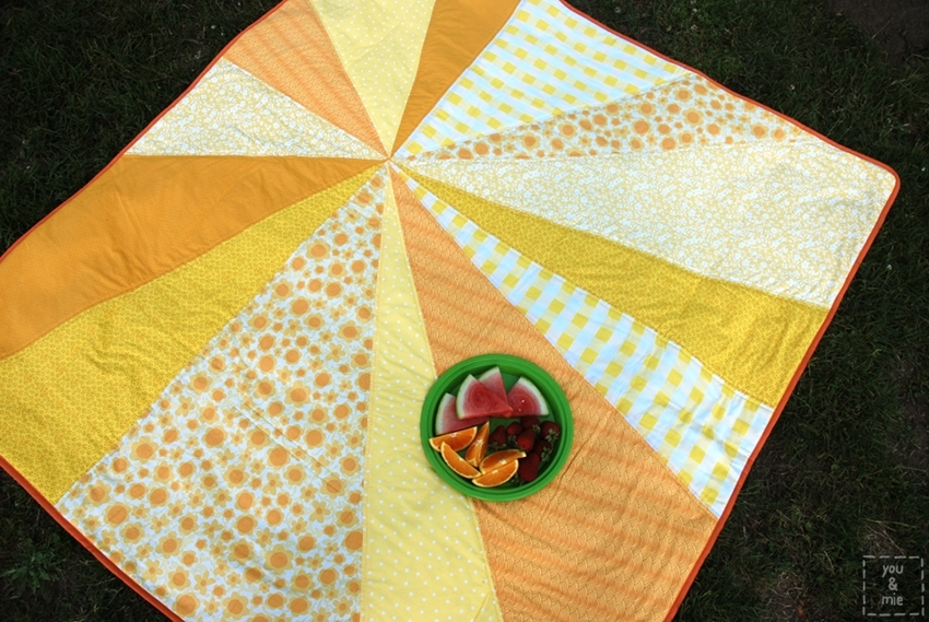 Yellow with Cherie from You & Mie : sunburst quilt - Adamdwight.com
