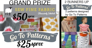 Go To Patterns sewing pattern giveaway