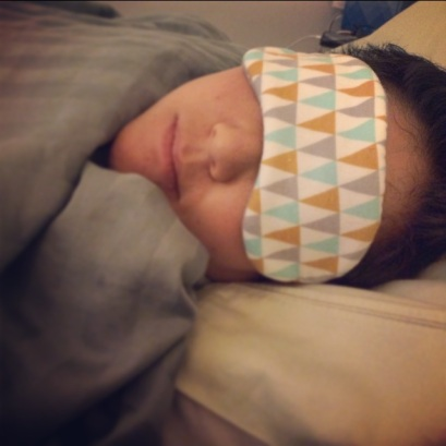 Fanfare eye mask
