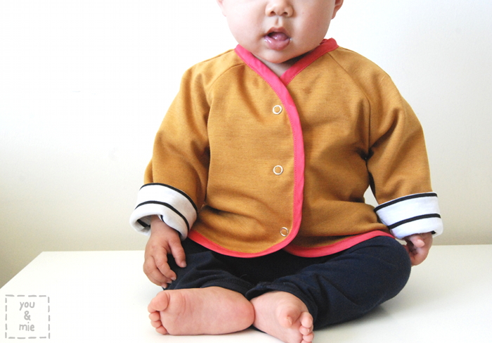 Lullaby Layette Baby Jacket | you and mie