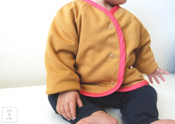 Oliver + S Lullaby Layette Jacket // by you & mie