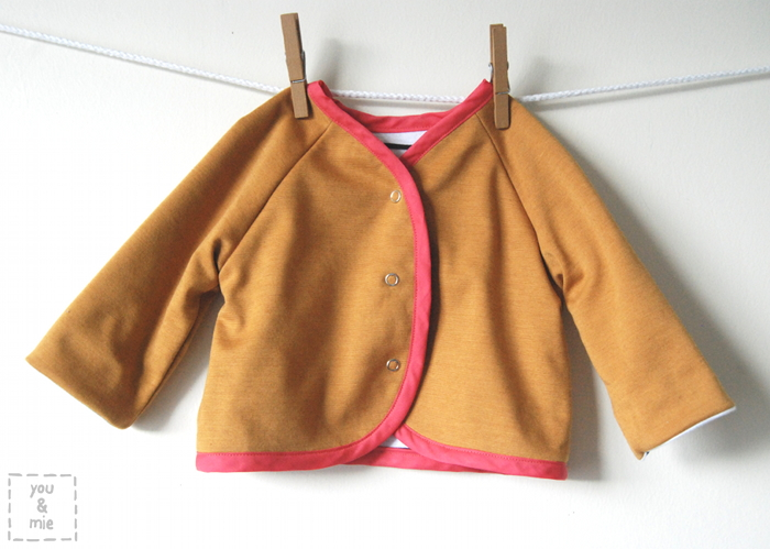 baby jacket | you and mie