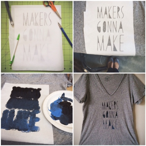 makers gonna make shirt // you & mie
