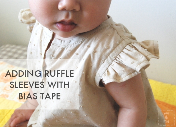 Ruffle Sleeve Tutorial by you & mie