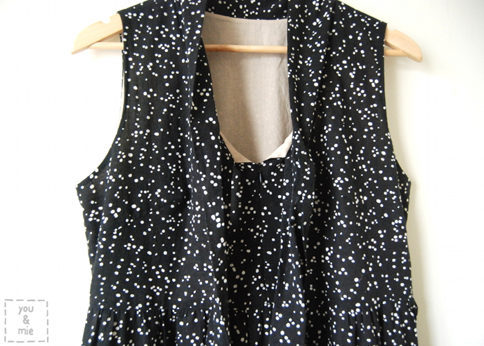 Starry Night Washi Dress by you & mie