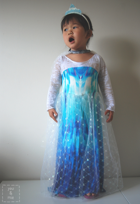 Frozen Elsa Dress Pattern Elsa inspired dress by you &