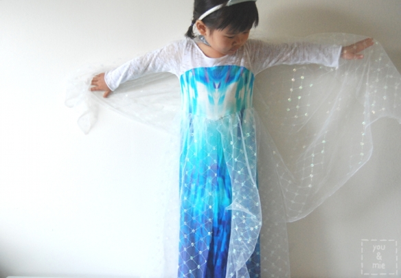 Elsa Inspired Dress by you & mie