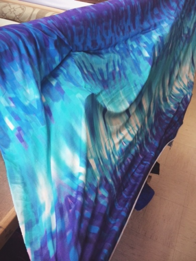 Frozen fractal fabric from Fabrix