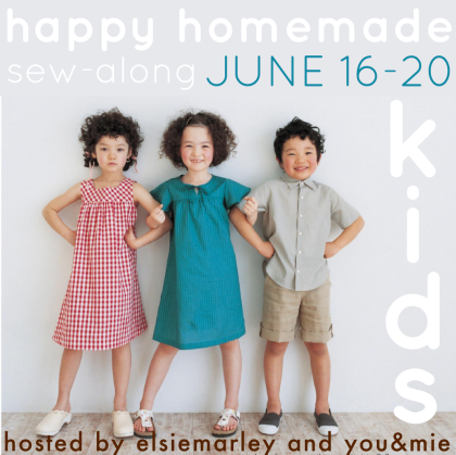Happy Homemade Sew-along // elsie marley and you & mie