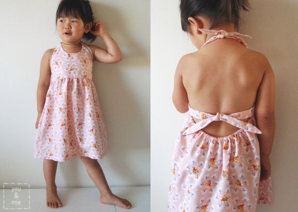 Fluttering Fields Sundress Tutorial // you & mie