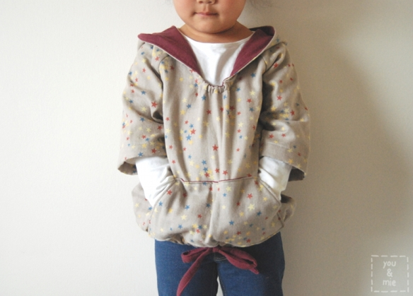 Happy Homemade Sew-along: Pull-over Parka // you & mie