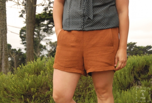 Iris Shorts by you & mie