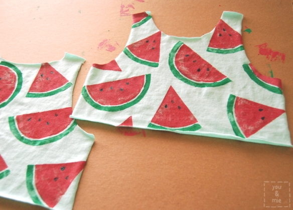 Watermelon Dress // you & mie