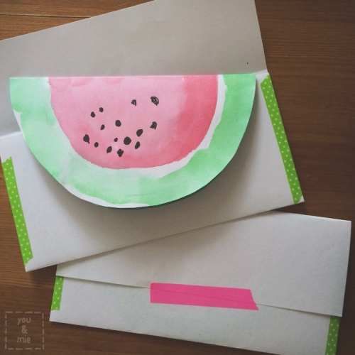 Watermelon Party Invites // you & mie