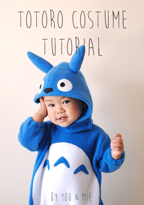 Iu0027m here with a tutorial today that Iu0027m really excited about! 3 years ago I made a Totoro costume for Yuki and it was a huge hit with Totoro fans ...  sc 1 st  you and mie & Totoro Costume Tutorial   you and mie