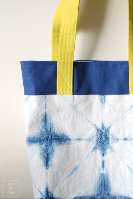 Shibori Tote // you & mie