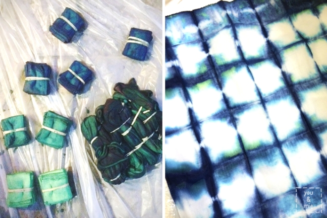 Shibori Dyeing // you & mie