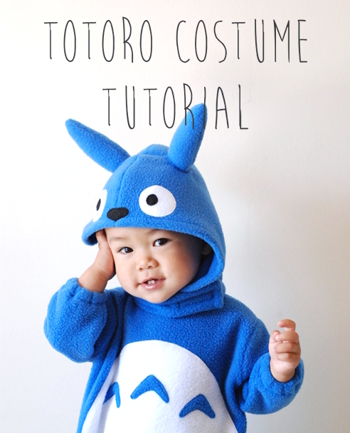 Totoro Costume Tutorial