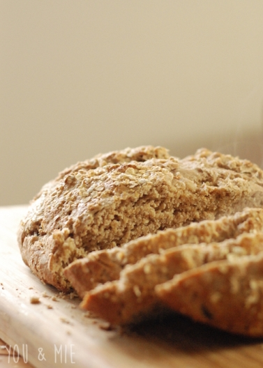 Oatmeal Whole Wheat Bread by Cherie Lockwood