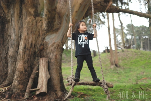 Tree Swing by Cherie Lockwood
