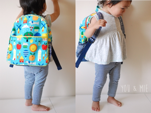 Small World Backpack by you & mie