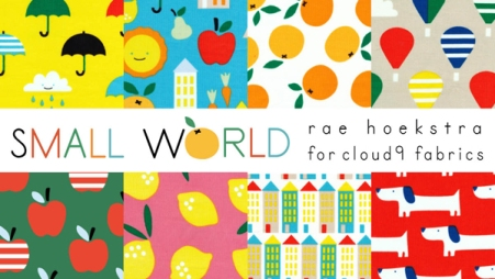 Small World Fabric by Rae Hoekstra for Cloud9