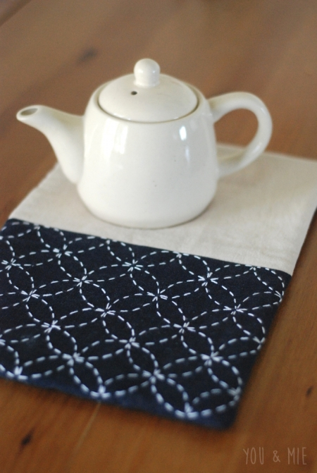 Sashiko Trivet by you & mie